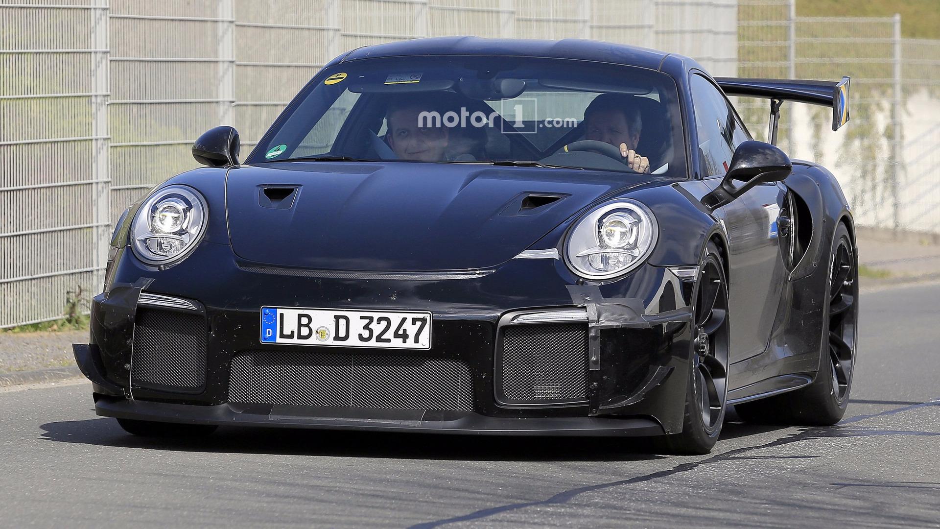 2018-porsche-911-gt2-spy-photo Stunning Porsche 911 Gt2 Body Kit Cars Trend