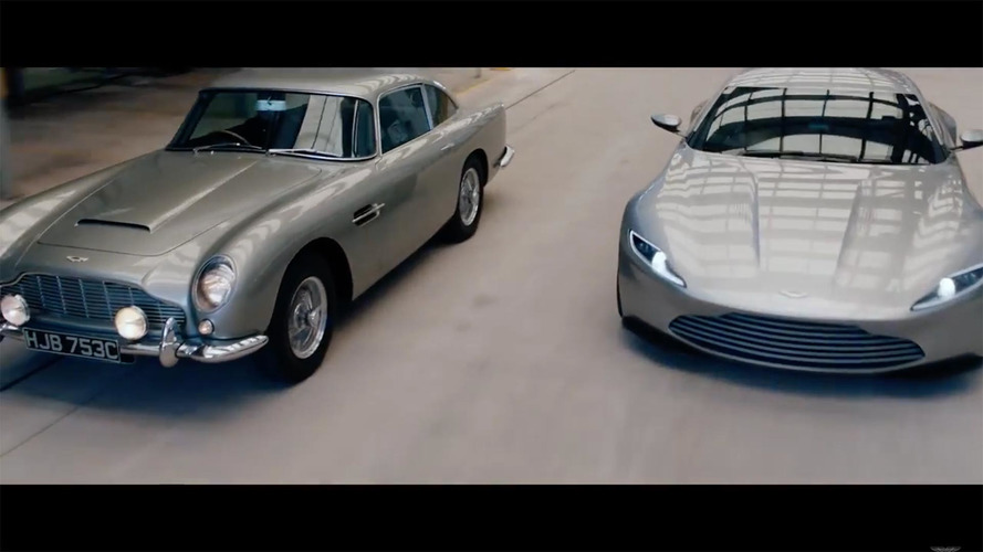 Aston Martin gathered $83M worth of cars to celebrate new plant