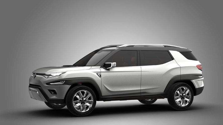 SsangYong XAVL Concept, el futuro SUV de 7 plazas