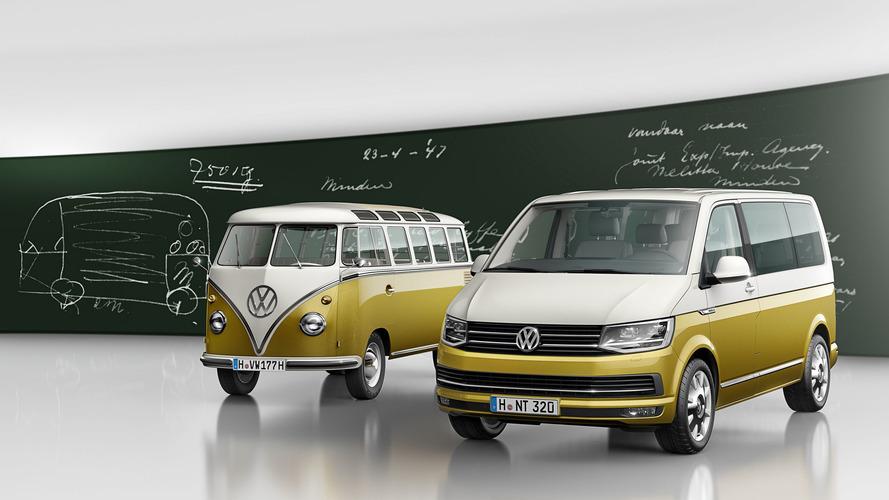 Volkswagen Multivan, Bulli'nin 70'inci yılını kutluyor
