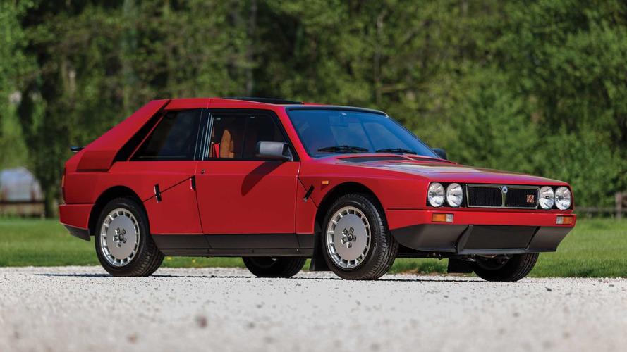 Exquisite Lancia Delta S4 'Stradale' Has Low Mileage, High Price