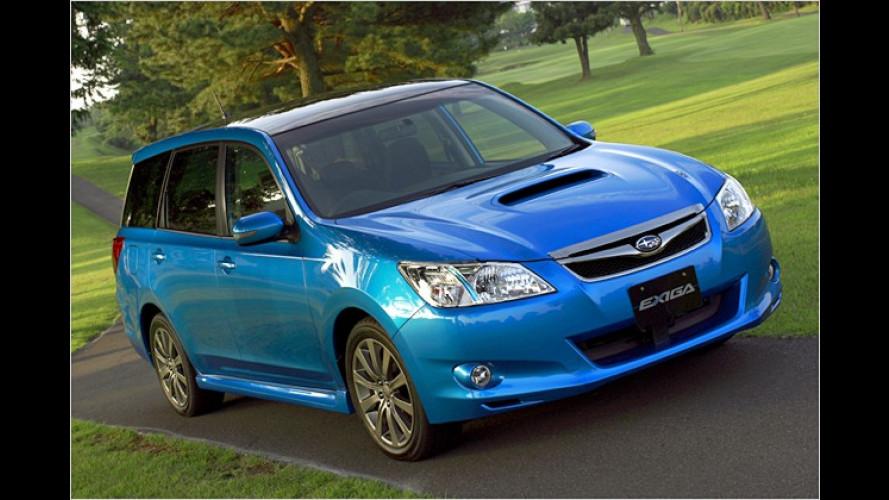Subaru bringt einen neuen Siebensitzer auf den Markt