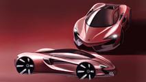 McLaren Design Sketch