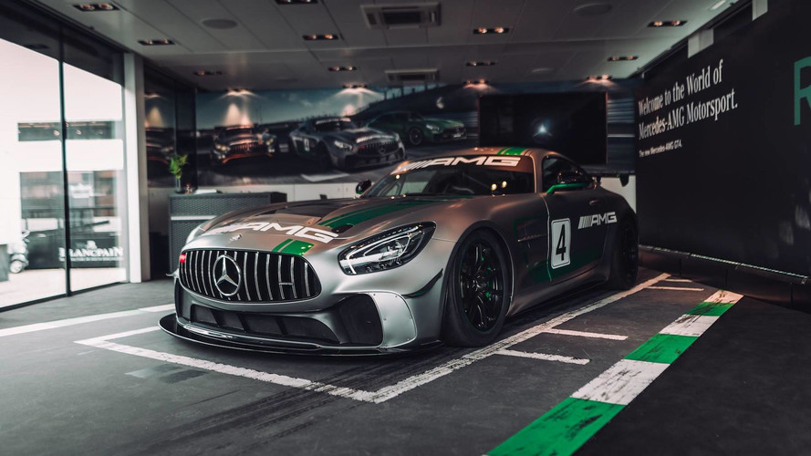 Mercedes-AMG GT4 Is One Mean Racing Machine