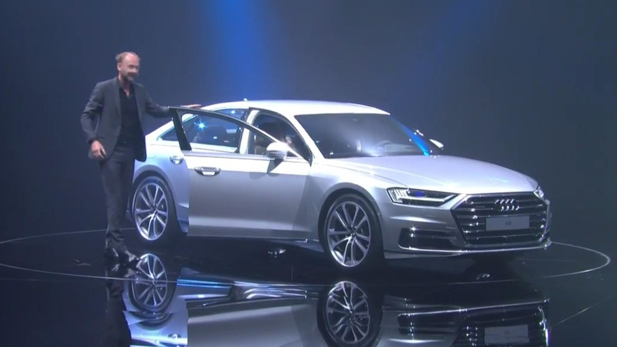 2018 Audi A8 teasers