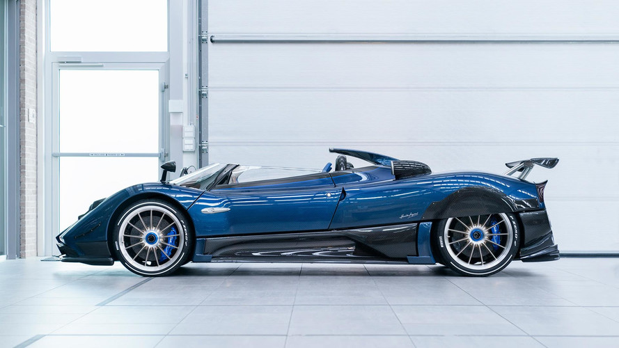 pagani zonda hp barchetta for horacio gets special features. Black Bedroom Furniture Sets. Home Design Ideas