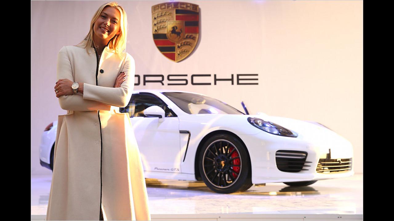Maria Scharapova: Porsche Panamera