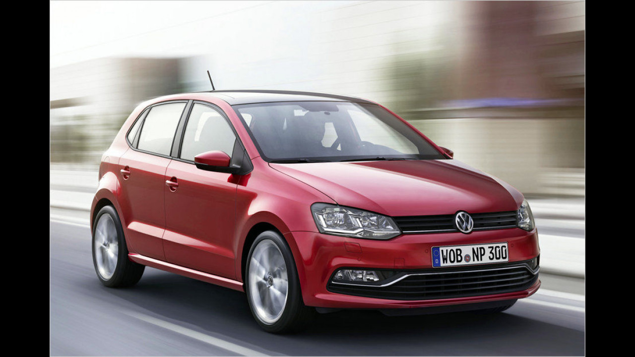 Kleinwagen, Platz 1: VW Polo (17.657 Stück)