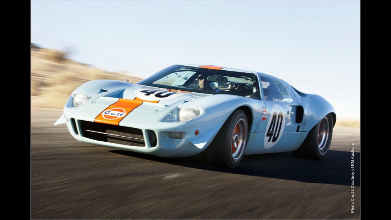 Platz 3: Ford GT40 Lightweight, Baujahr 1968