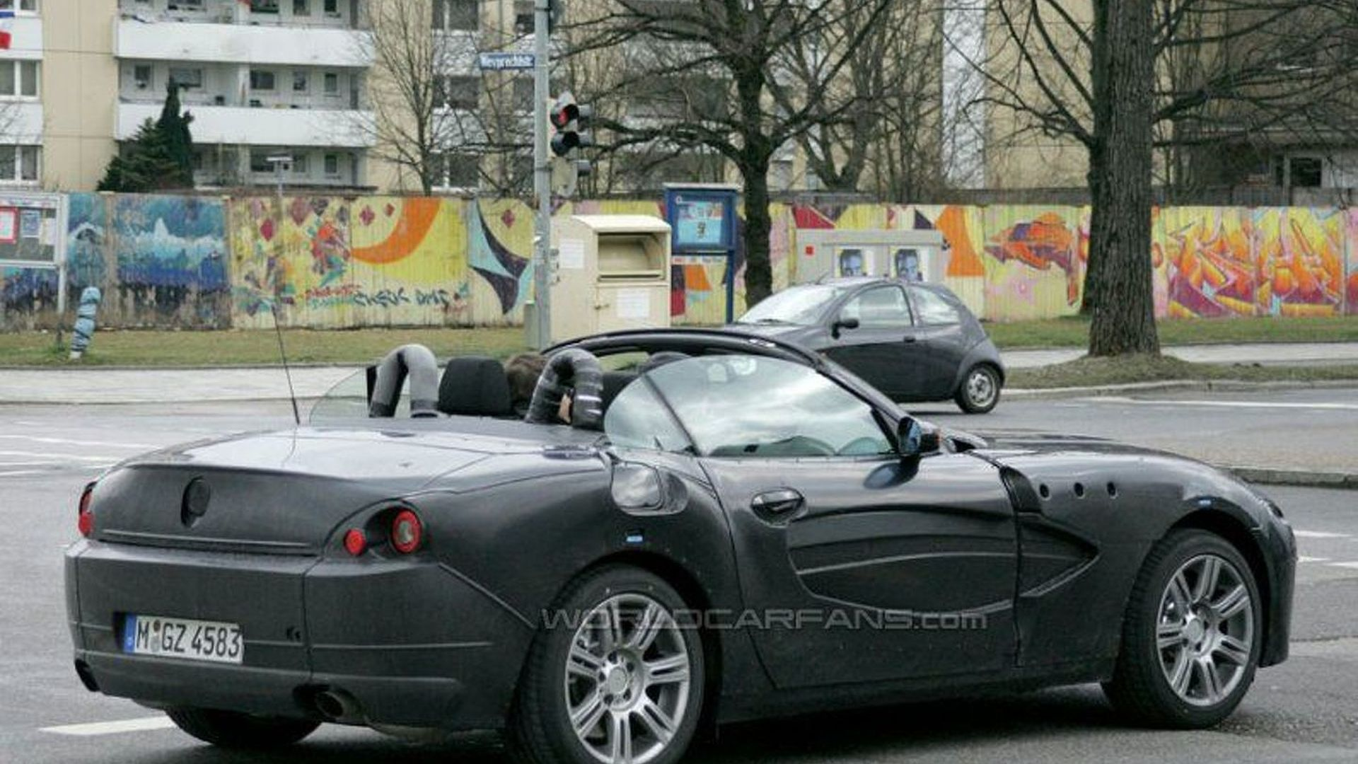 Spy Photos Bmw Z4 With Roof Down