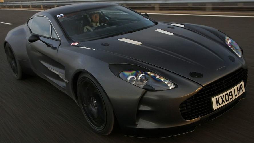 Aston Martin One-77 Hits 220mph During Development Testing