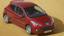 Restyled Peugeot 207 GTi THP 175