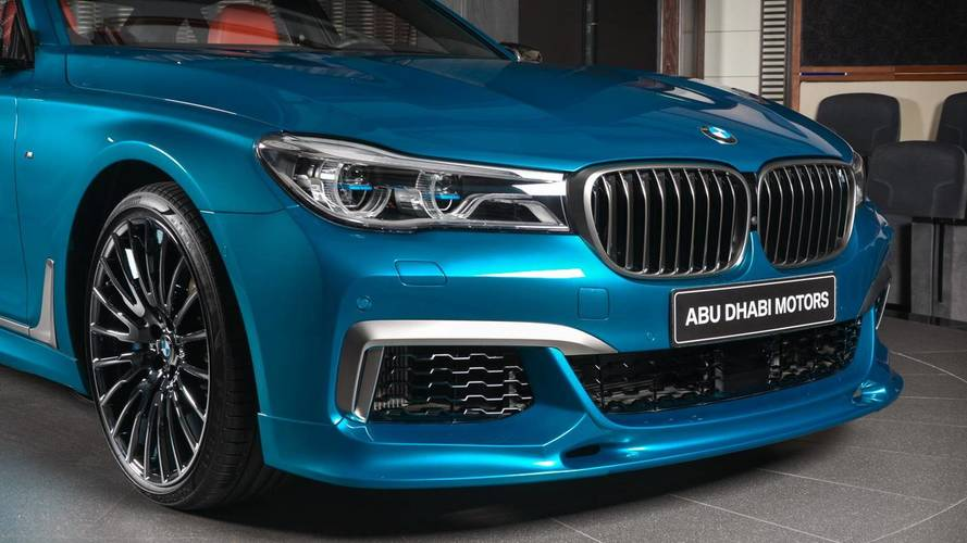 Bmw M760li Xdrive In Long Beach Blue Photo