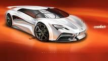 Lamborghini Countach Render