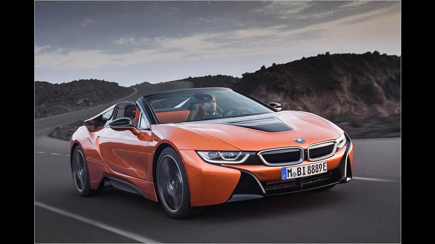 Der BMW i8 Roadster ist endlich da