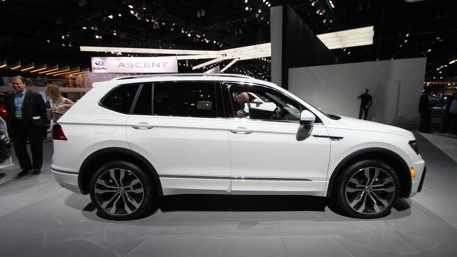 Volkswagen Debuts Stylish R-Line Trim For 2018 Tiguan