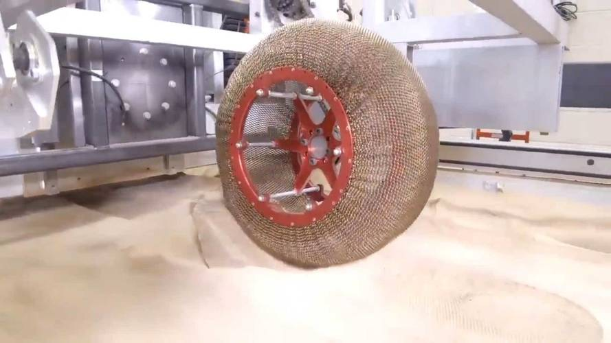NASA Literally Reinvents The Wheel With Mesh Memory Tires