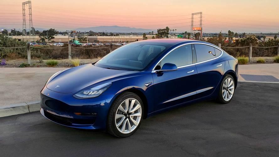 La Tesla Model 3ne roulera pas en France avant 2019