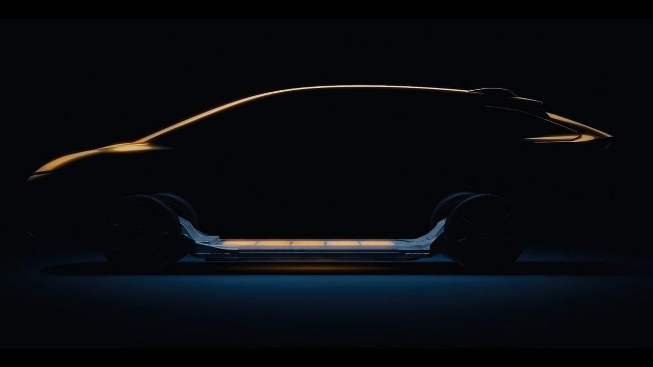 Faraday Future electric SUV teaser