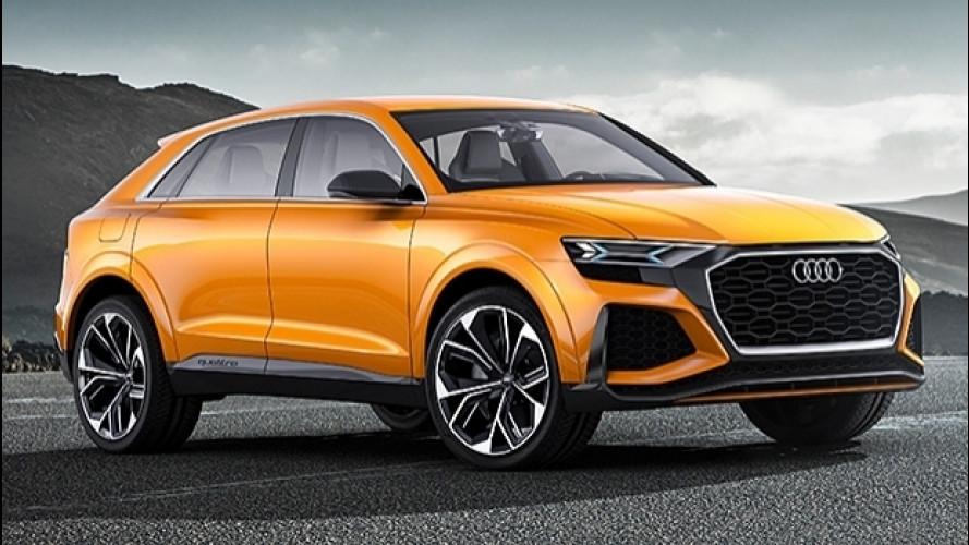 Audi Q8 sport concept, prove generali di futursuv [VIDEO]