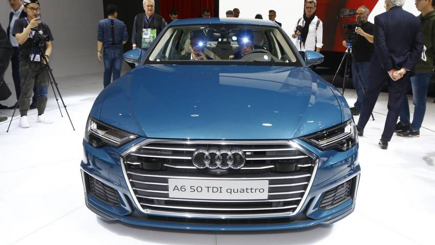 Public debut in Geneva for new Audi A6
