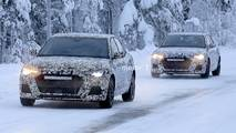 2018 Audi A1 spotted testing in the snow