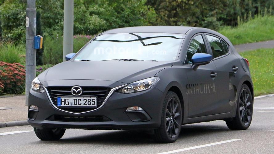 Mazda3 Spied Testing Skyactiv-X Engine