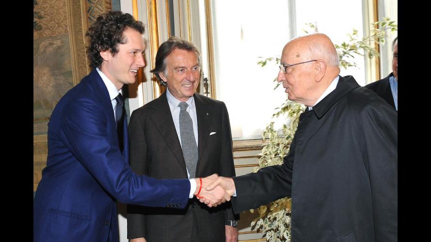 Alfa Romeo Giulietta al Quirinale e a Palazzo Chigi