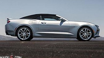 2016 Chevrolet Camaro Convertible leaked photo