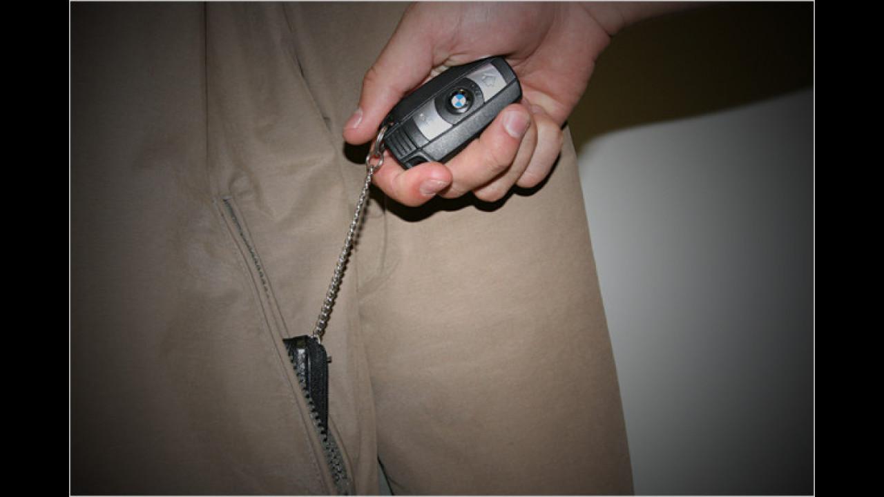 Schlüssel-Diebstahl