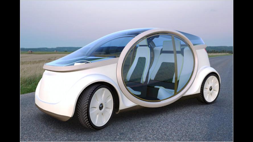 Brennstoffzellenfahrzeug Nios für den Shell Eco-Marathon