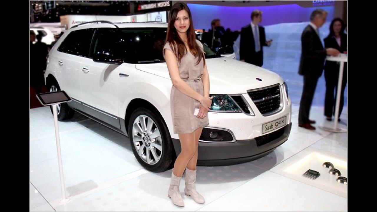 Oh, Saab aus Schweden. Sind die Schwedinnen nicht immer blond?