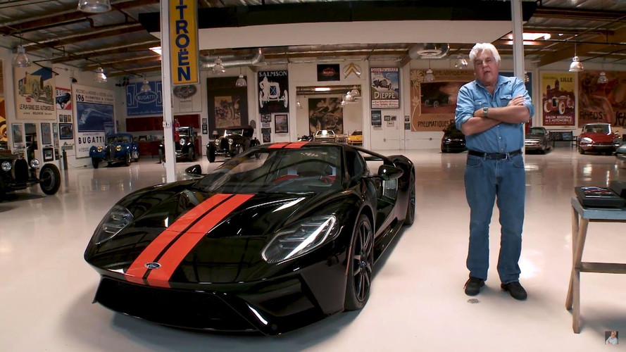 Jay Leno's Ford GT Window Sticker Shows $506K Price