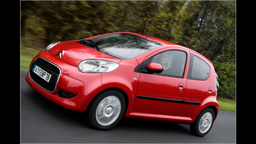 Schicke Citroën zum günstigen Preis
