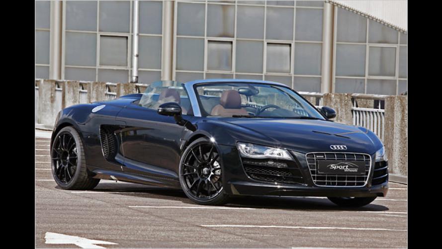 Audi R8 mit mehr Macht: Bis zu 600 PS im Spyder