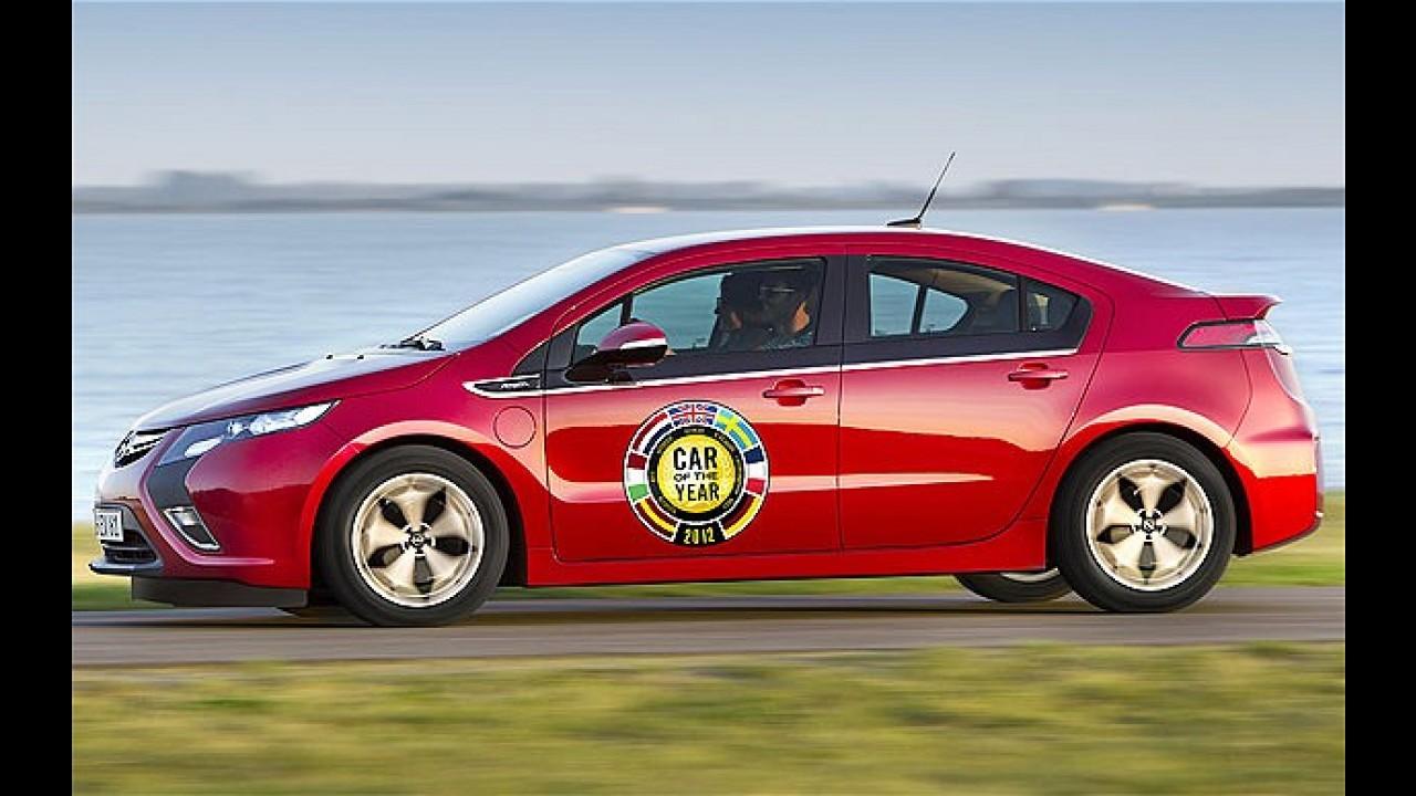 Opel Ampera é o Carro do Ano 2012 na Europa