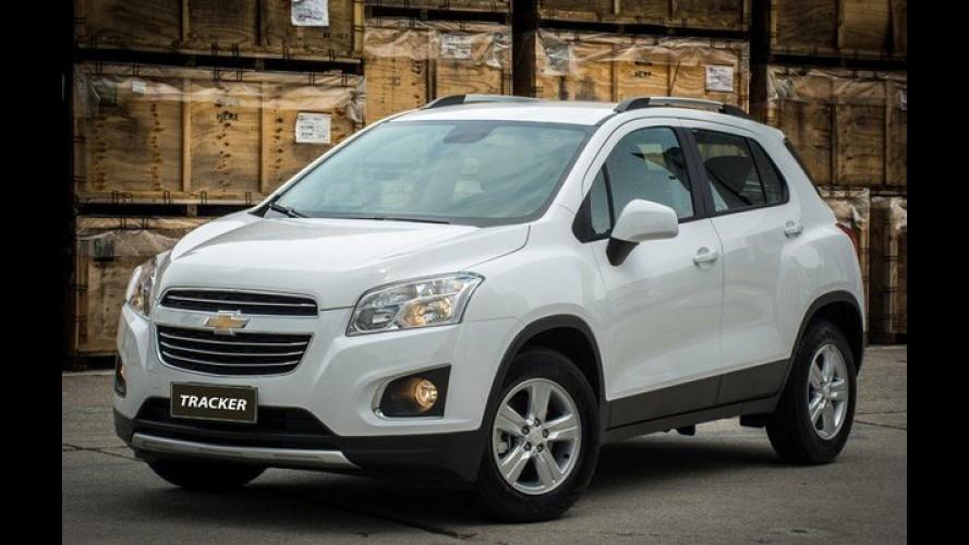 Chevrolet Tracker ganha versão de entrada LT por R$ 76.990