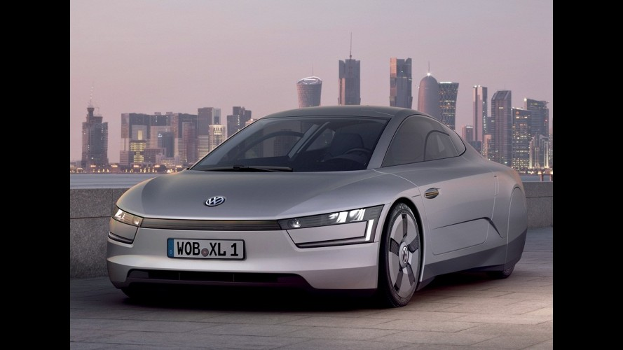 Volkswagen promete iniciar vendas do super-eficiente XL1 ainda neste ano