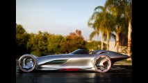 Flecha de Prata Futurista: Mercedes-Benz Silver Arrow Concept 2011