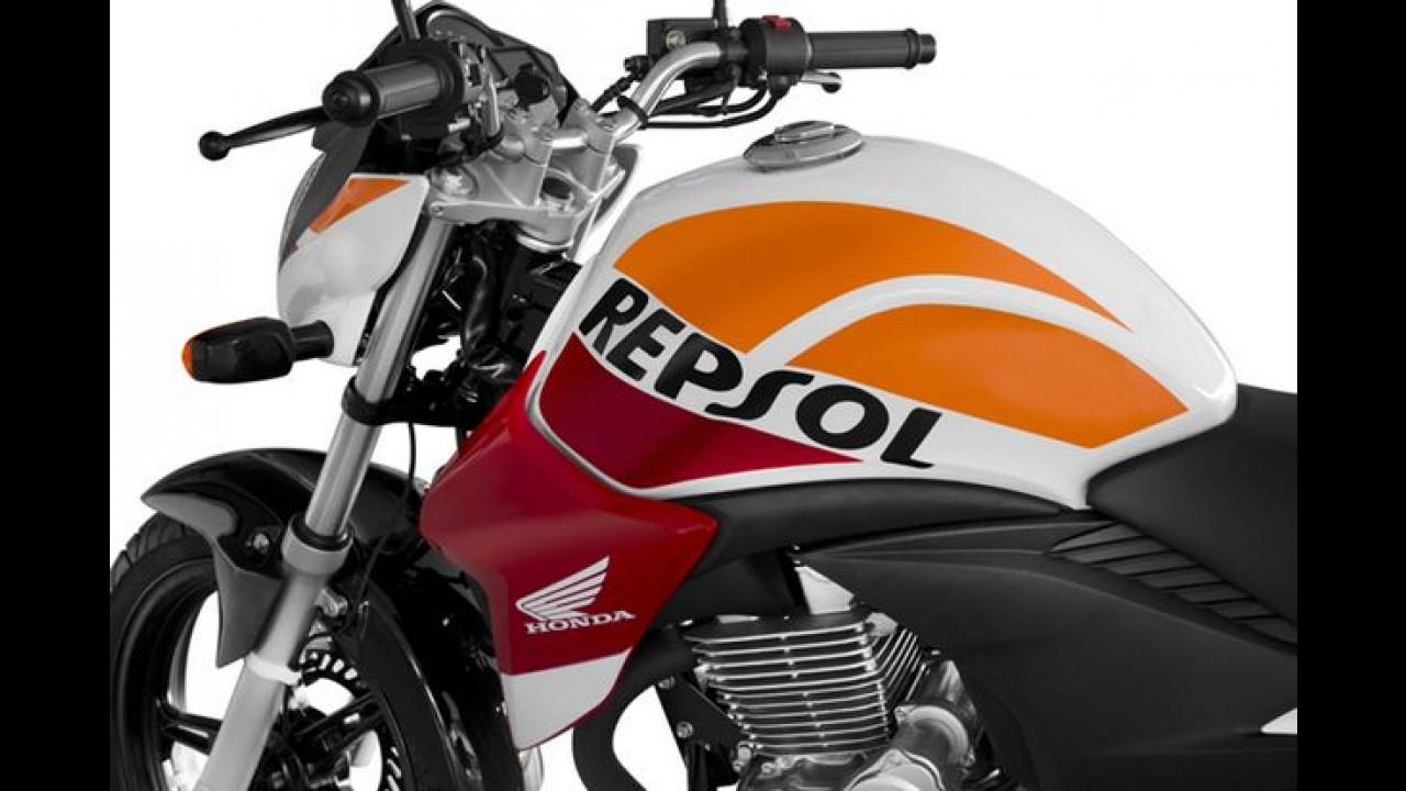 Honda lança CB 300R especial com pintura Repsol