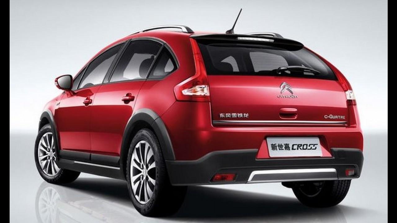"Citroën C4 ganha versão ""Cross"" na China"
