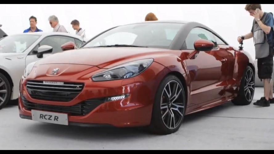 Vídeo: Peugeot coloca o RCZ R para andar em Goodwood
