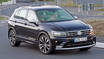 VW Tiguan R spy photos