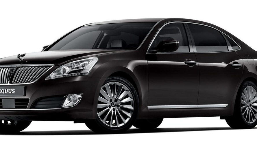 2013 Hyundai Equus facelift revealed