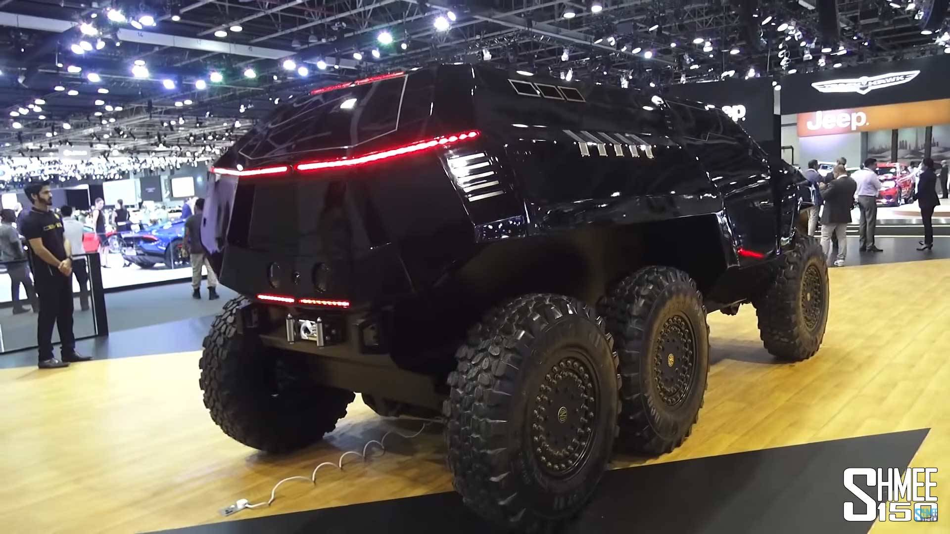devel sixty is a sinister 6x6 suv concept to rival mb g63 amg localis. Black Bedroom Furniture Sets. Home Design Ideas