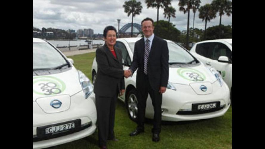 Anche l'Australia ha fiducia nell'auto elettrica