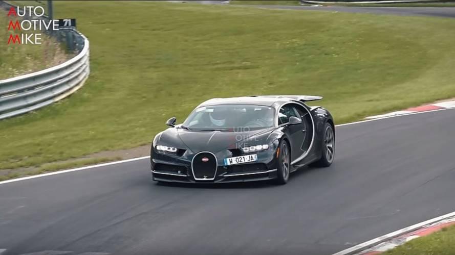 VIDÉO - Que font ces deux Bugatti Chiron sur le Nürburgring ?