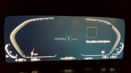 Next Z4 Spied Inside Showing BMW's New Digital Instrument Cluster