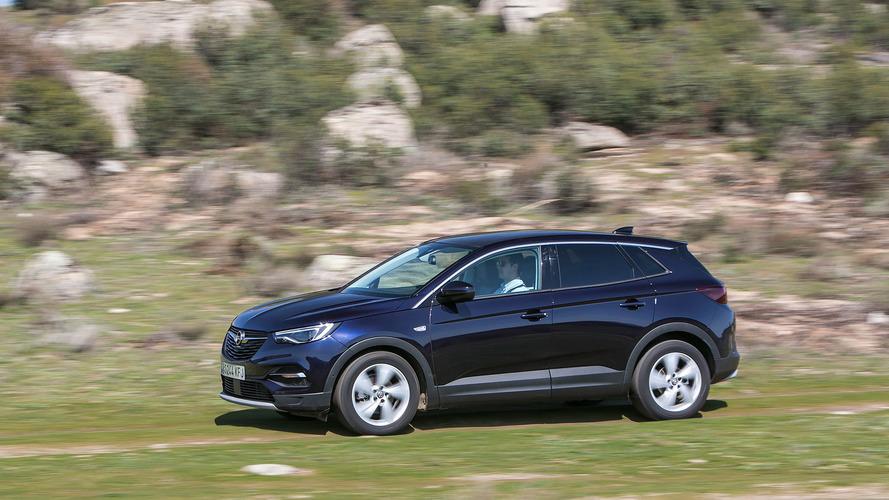 Prueba Opel Grandland X 2018, base sólida