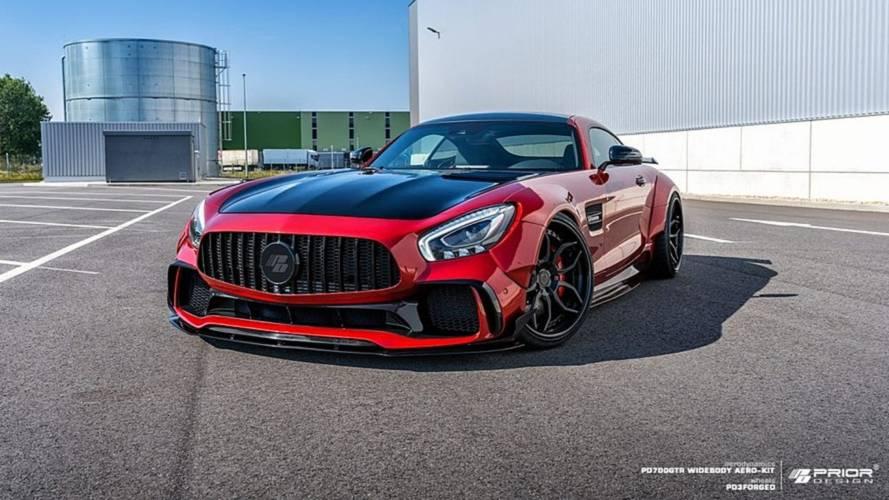 Prior Design brutalise la Mercedes-AMG GT S